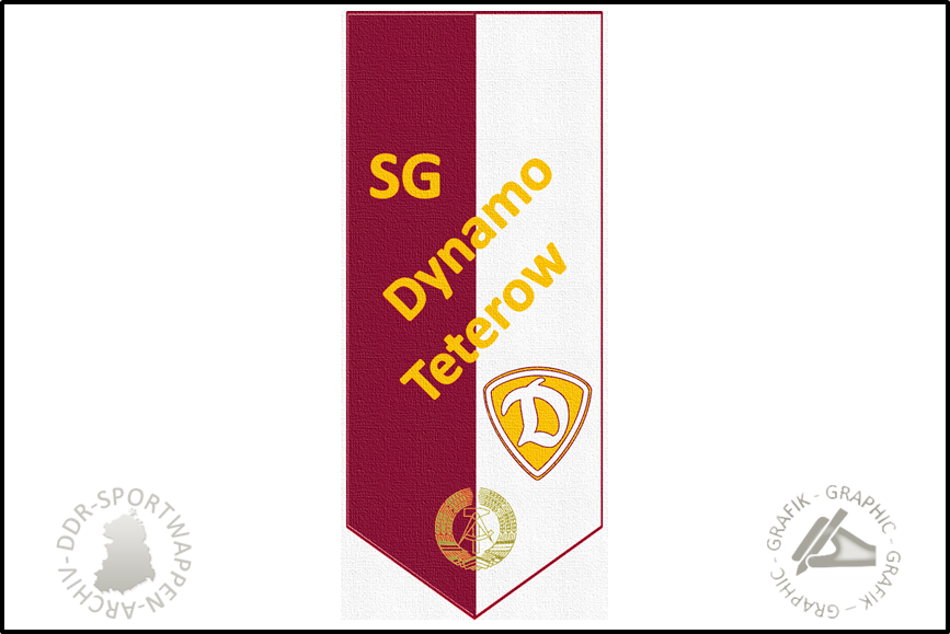 SG Dynamo Teterow Wimpel